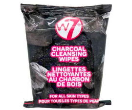 W7 Charcoal Cleansing Wipes - 25 PCS