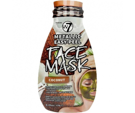 W7 Easy Peel Coconut Face Mask
