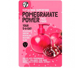 W7 Pomegranate Power Face Mask