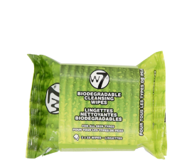 W7 Biodegradable Cleansing Wipes - 2 x 25 pcs