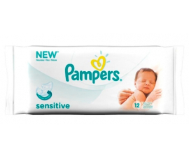 Pampers Sensitive Wet Wipes with Chamomile