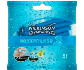 Wilkinson Sword Essentials 2 Disposable Razor - 5 items