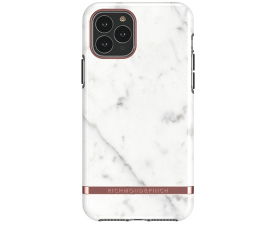 Richmond & Finch White Marble Mobil Cover - iPhone 11 Pro