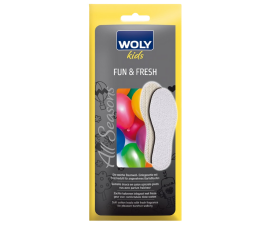 Woly Kids Fun & Fresh Insoles